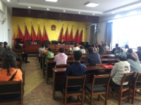 西大营子镇农村直播电商培训班在镇政府会议室开班